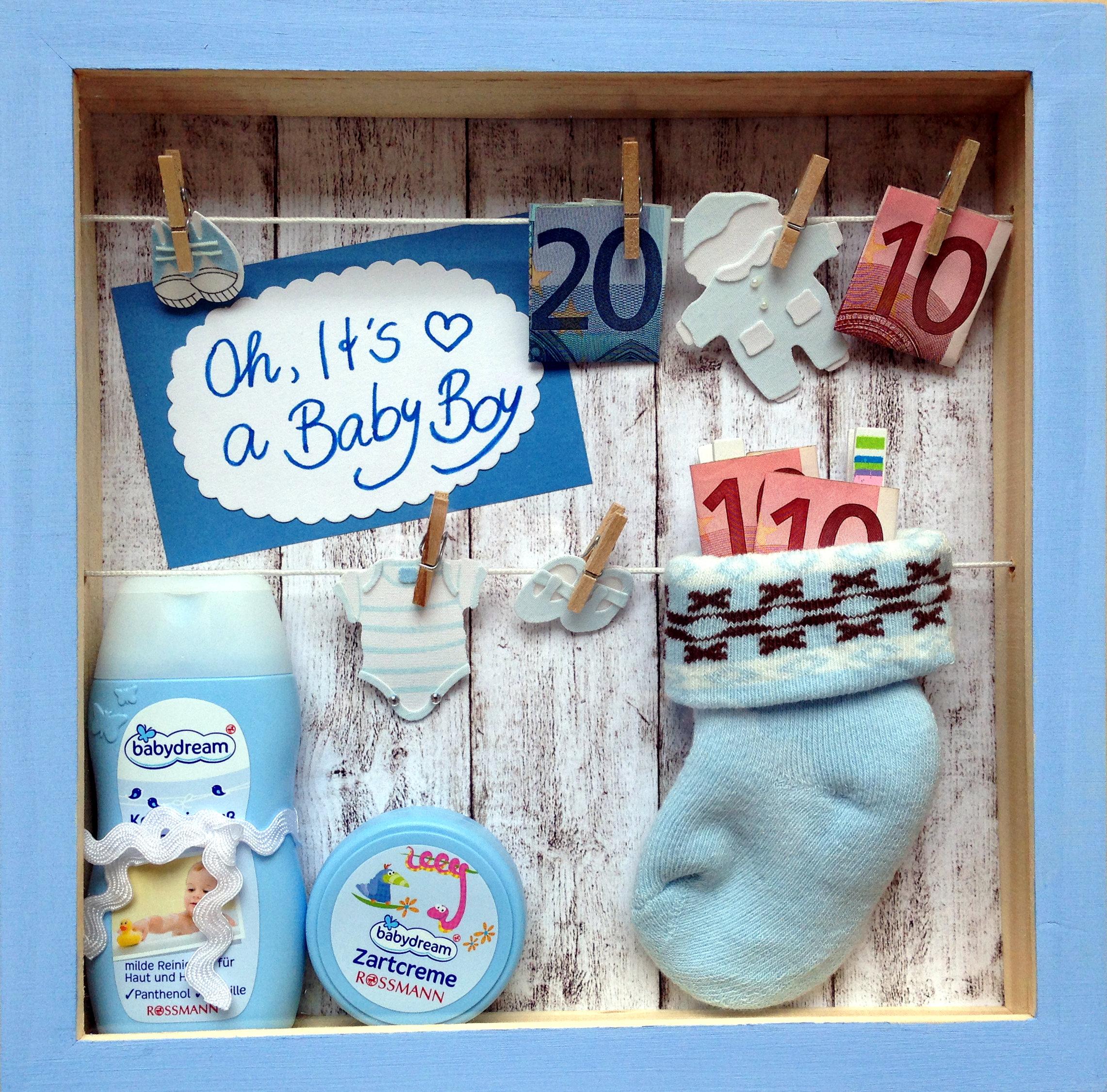It S A Baby Boy Gutscheinrahmen Zur Geburt Kupferherzblog
