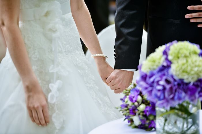 Erster Hochzeitstag